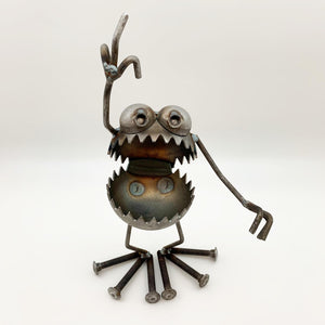 "Sculpture - ""Give 'em The Bird"" Monster"
