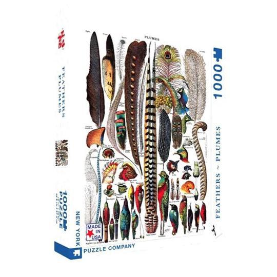 Puzzle - Feathers - 1000pc