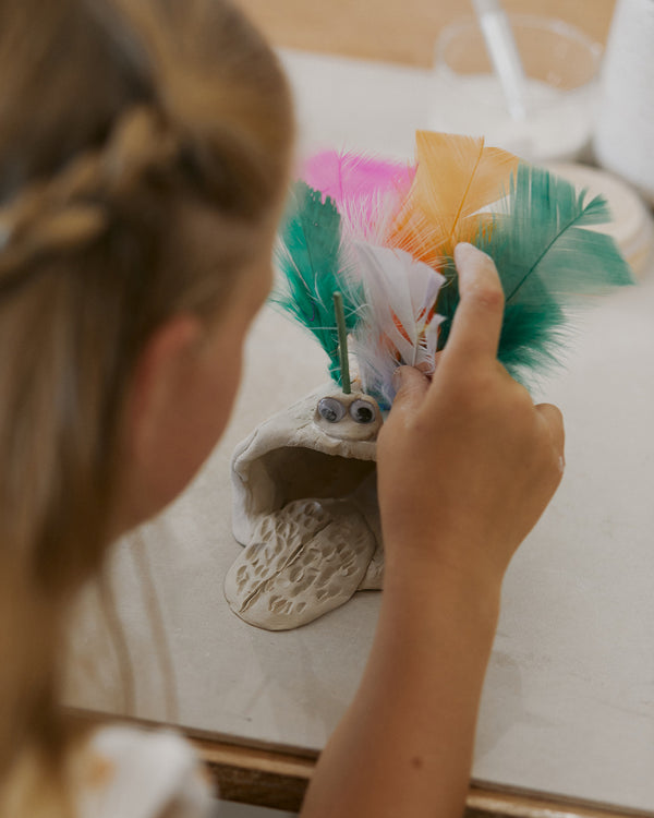 Clay Monsters: Kids School Holiday Workshop (Ages 6-9)