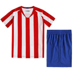 Blank Football Jerseys kids soccer jerseys set Boys 20 football uniforms girls Soccer Clothes Sets