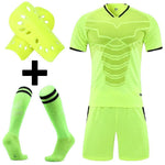 Adult Kids Soccer Jersey Set survetement Football Kit custom Men child Futbol Training Uniforms