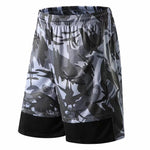 Men's Basketball Shorts Breathable Fitness Pocket Running Shorts Jerseys Loose Workout Fitness