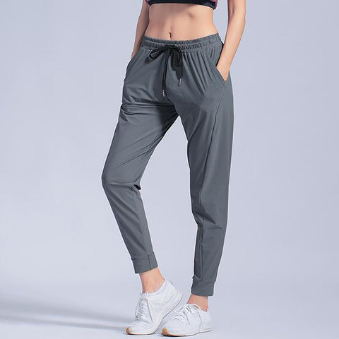 New sport gym Running Sports Pants Yoga Leggings Loose Women Workout Jogging Sports Trousers Female
