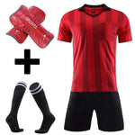 Mens referee soccer jerseys set survetement Football Kit judge football uniform tracksuits men's