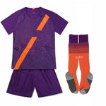 Blank Soccer Jersey Set Children football uniforms boys girls Custom Football jersey training suits