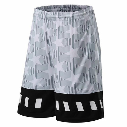 Basketball jacket Quick Dry running sports fitness shorts men five points loose Soccer Exercise