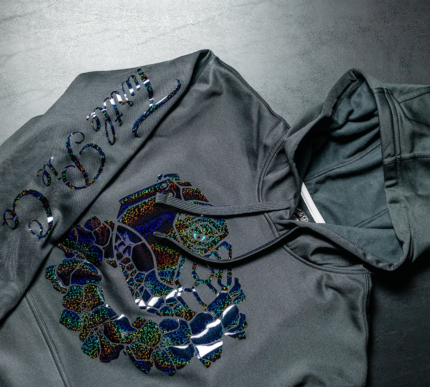 Turtle Pie Co - Black Opal Hoodie