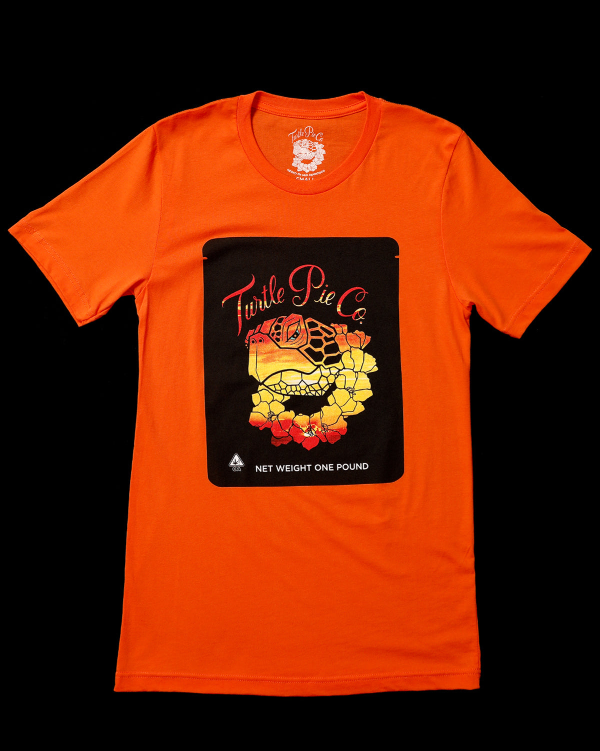 Turtle Pie Co Sunset Tee - Orange