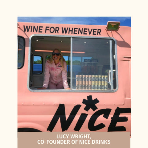 Lucy Wright - Co-founder of Nice Drinks