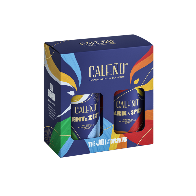 Duo: 20cl gift box-CALEÑO-Gift Box-Lassou_Drinks-1