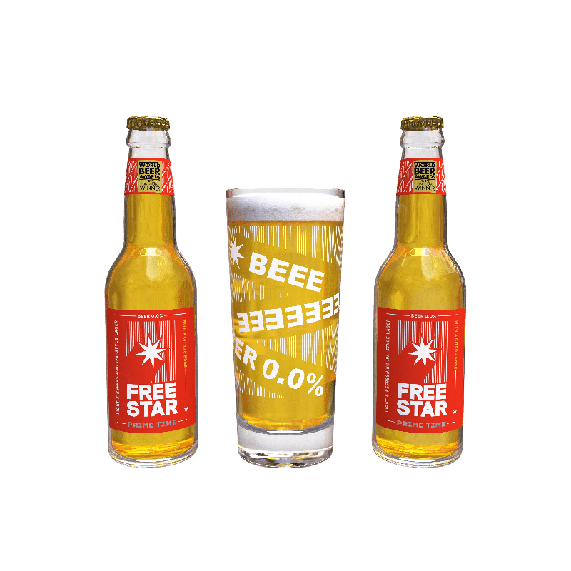 GIFT PACK - BOTTLES-Freestar-No-Abv Beer-Lassou_Drinks-2