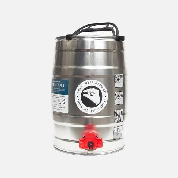 Small Beer 5L Mini Keg – Session Pale-Small Beer-Beer-Lassou_Drinks-1