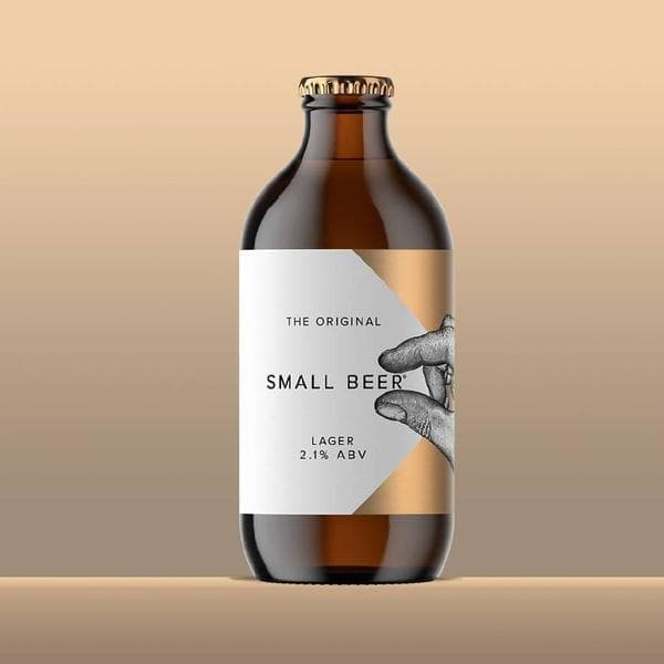 Small Beer Lager 2.1% | 6x350ml-Small Beer-Beer-Lassou_Drinks-2