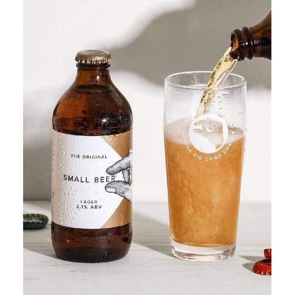 Small Beer Lager 2.1% | 6x350ml-Small Beer-Beer-Lassou_Drinks-4