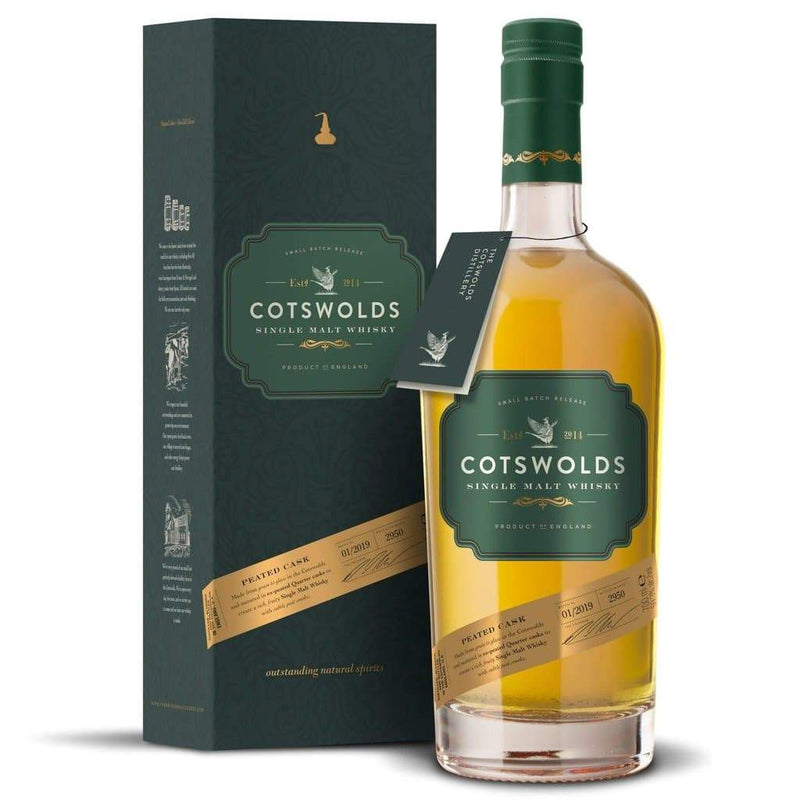 PEATED CASK SINGLE MALT WHISKY-The Cotswold Distilling Company-Whisky-Lassou_Drinks-2