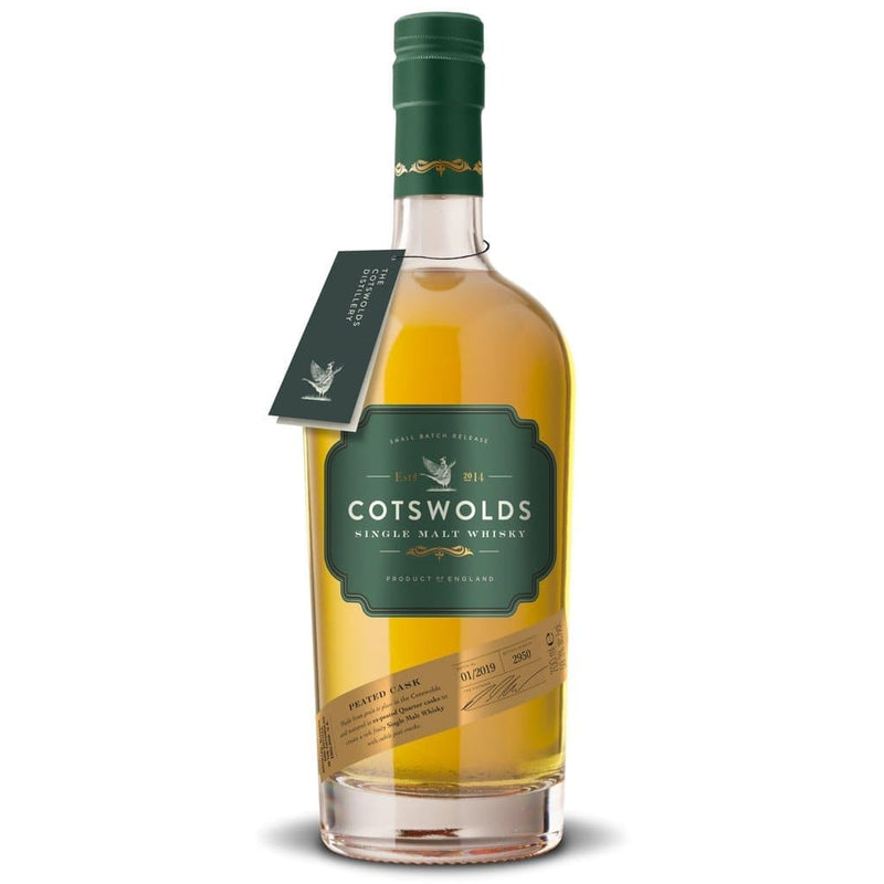 PEATED CASK SINGLE MALT WHISKY-The Cotswold Distilling Company-Whisky-Lassou_Drinks-1
