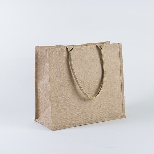 reusable shopping bag jute material