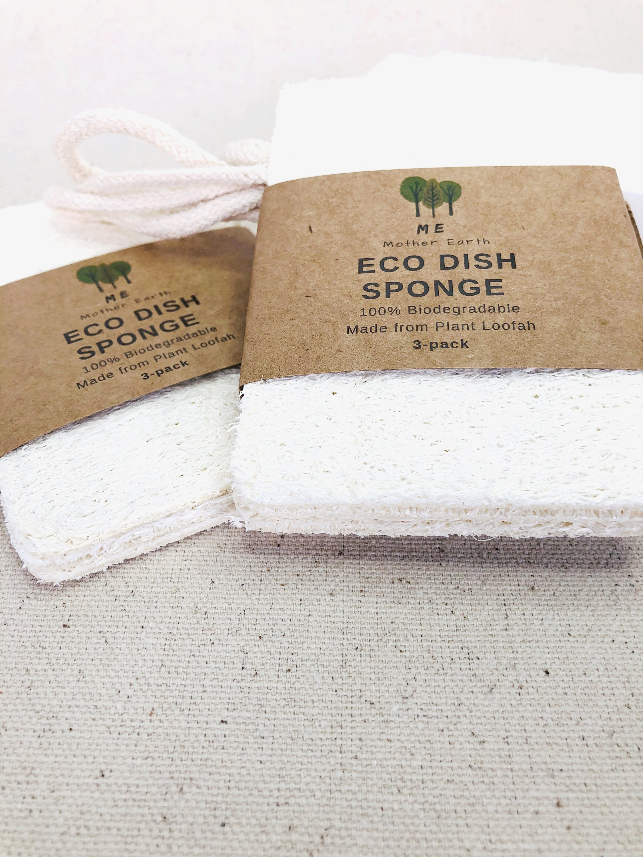 Eco dish sponge 3 pack on belloeco website