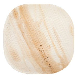 Open image in slideshow, square palm leaf plate