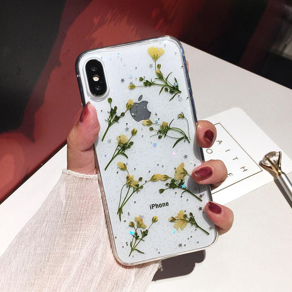 TPU floral phone case on belloeco website