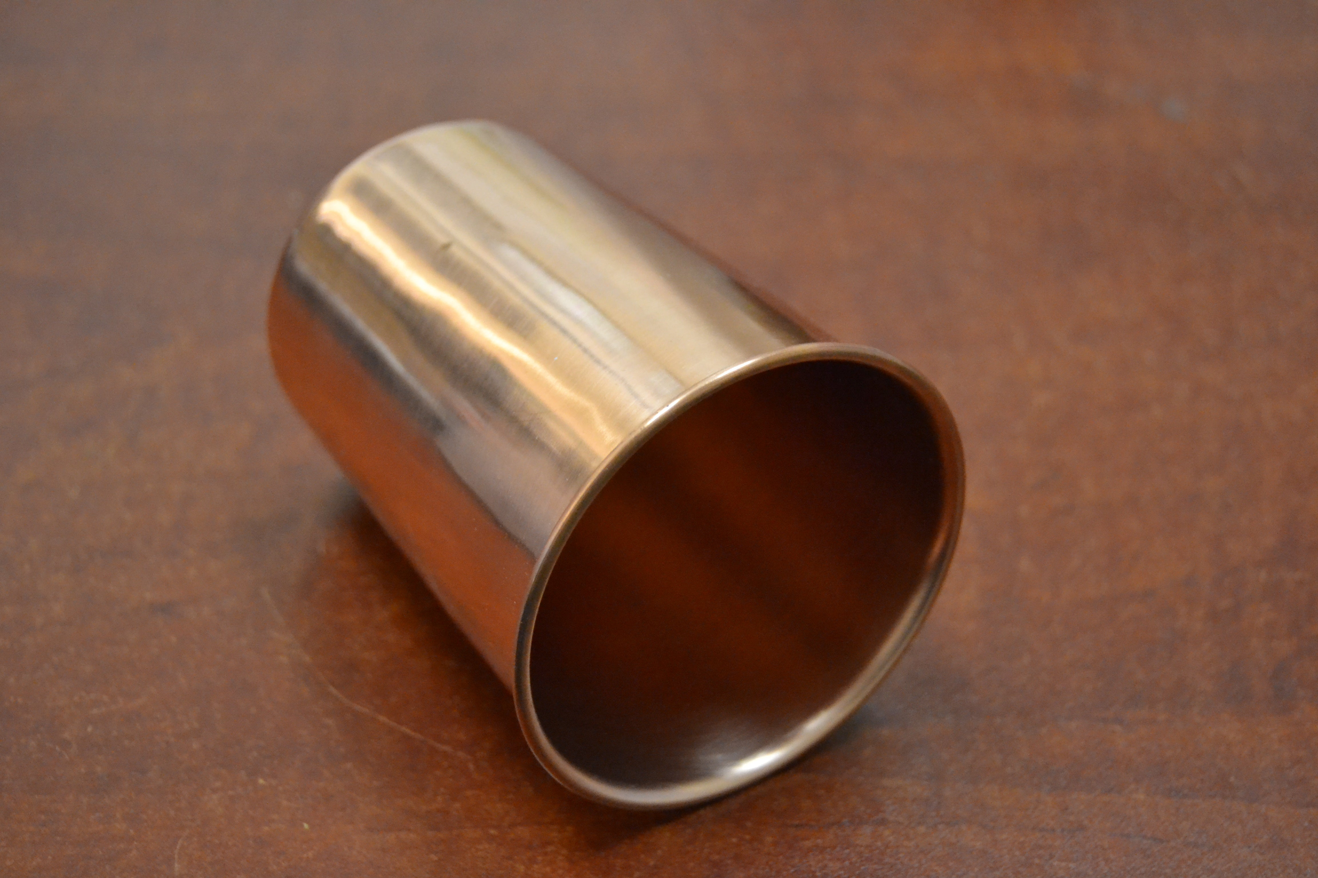 handmade genuine copper cup