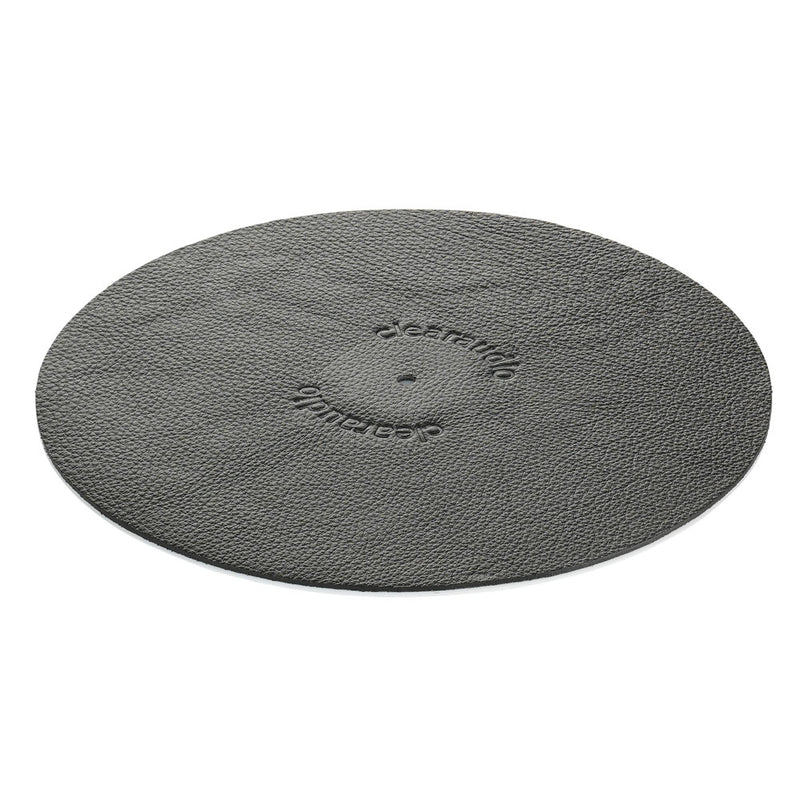 Clearaudio Leather mat black