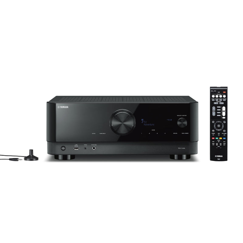Yamaha RX-V4A 5.2-Channel AV Receiver with 8K HDMI and MusicCast
