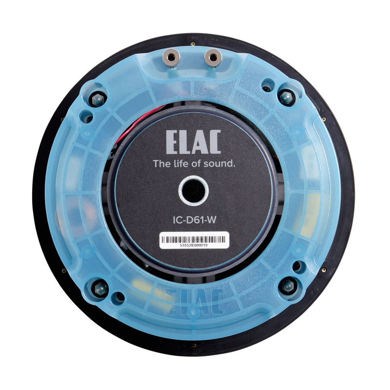 "ELAC Debut IC-D61-W 6.5"" In-Ceiling 2-way Speaker"