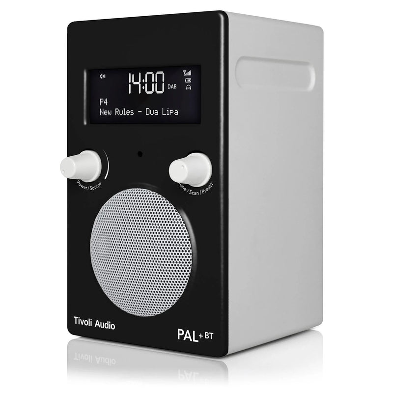 Tivoli PAL+ BT (gen 2) Bluetooth® / DAB / FM Portable Radio black angle
