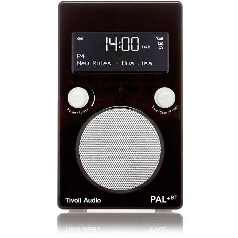 Tivoli PAL+ BT (gen 2) Bluetooth® / DAB / FM Portable Radio glossy black/white