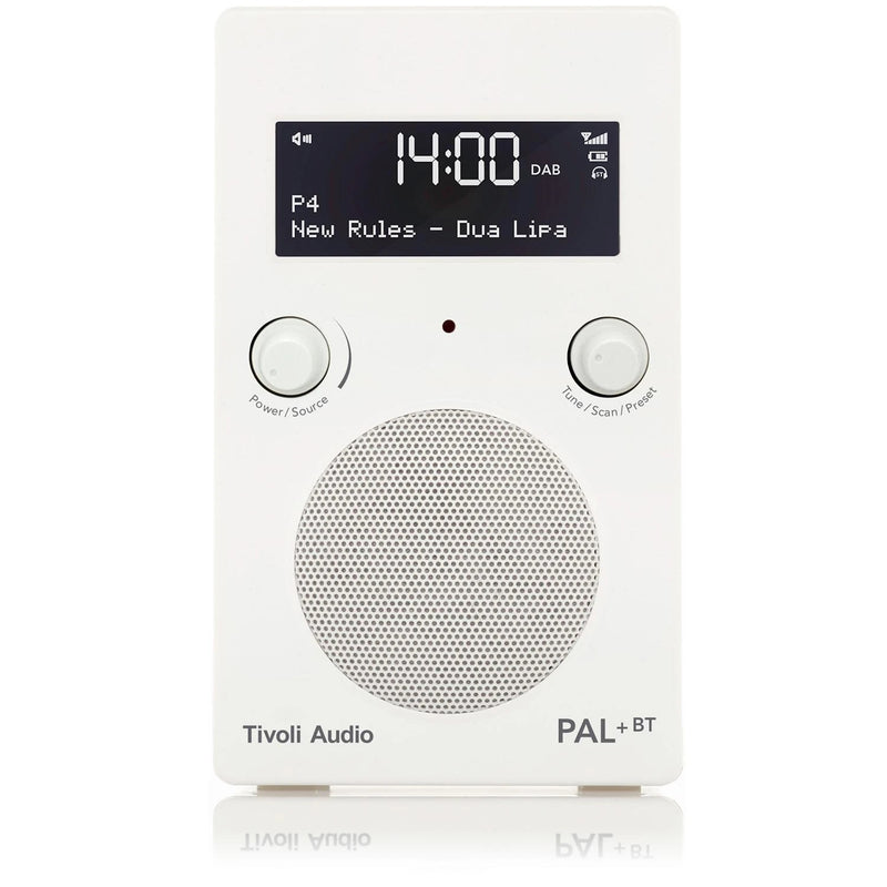 Tivoli PAL+ BT (gen 2) Bluetooth® / DAB / FM Portable Radio glossy white/white