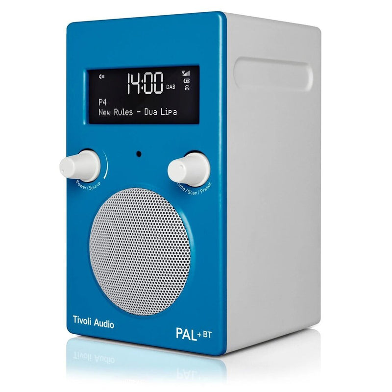 Tivoli PAL+ BT (gen 2) Bluetooth® / DAB / FM Portable Radio blue angle