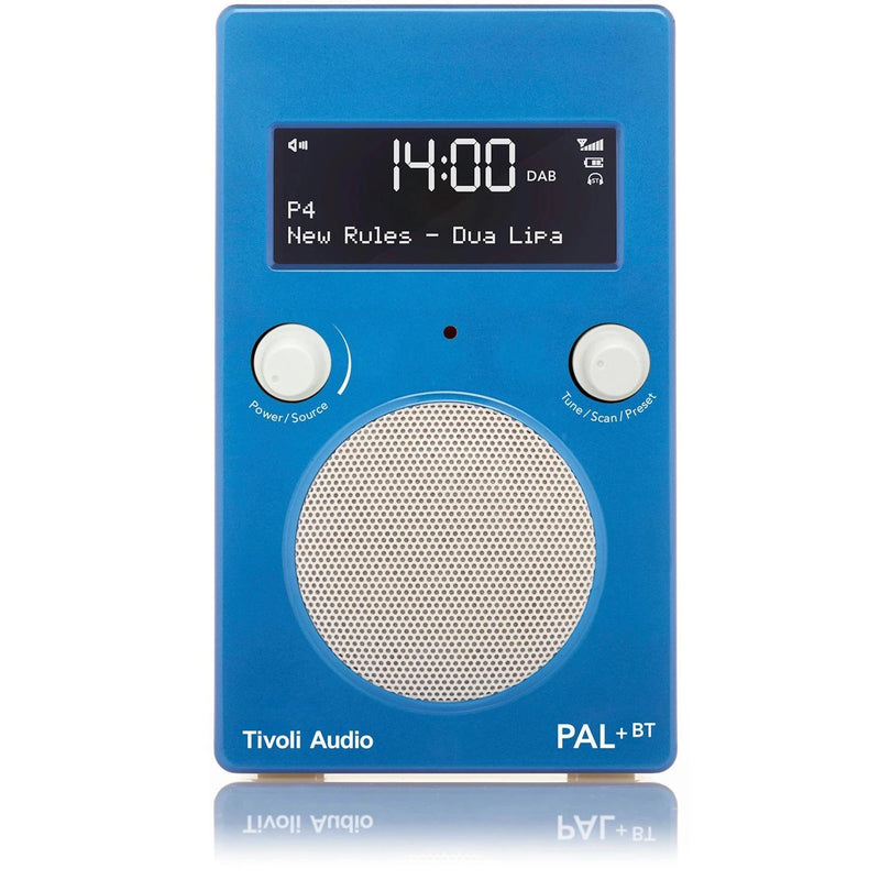 Tivoli PAL+ BT (gen 2) Bluetooth® / DAB / FM Portable Radio glossy blue/white