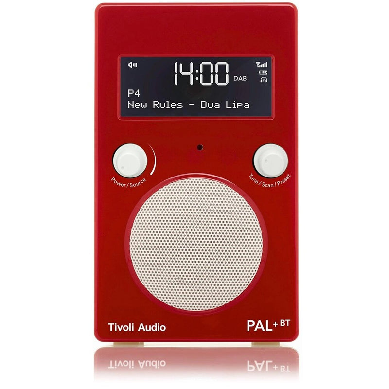 Tivoli PAL+ BT (gen 2) Bluetooth® / DAB / FM Portable Radio glossy red/white