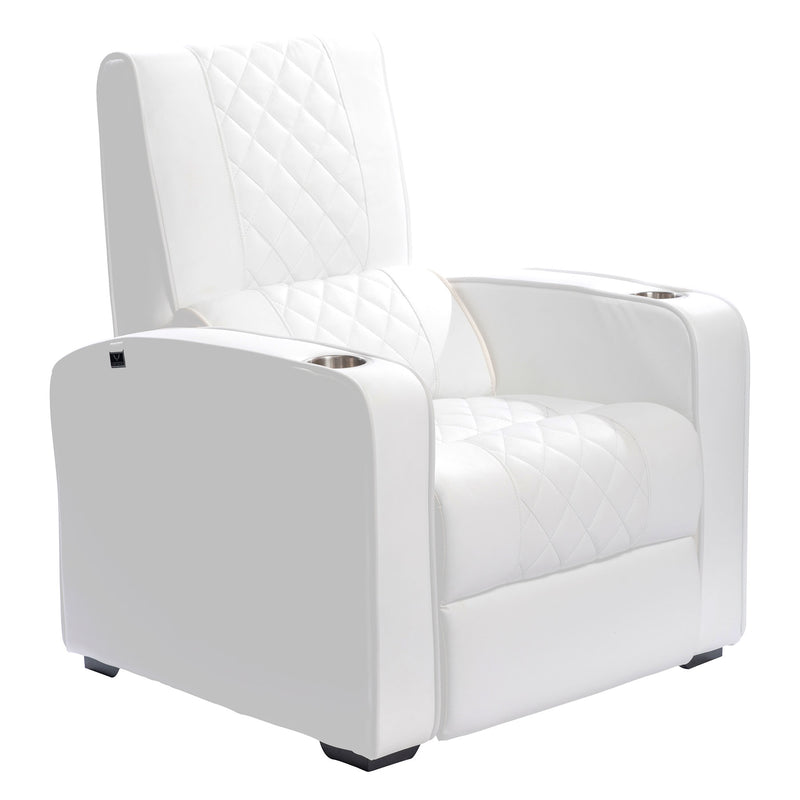Manhattan Gotham Pro Series Chair CFG410 Straight Layout with Microfiber Leather Finish