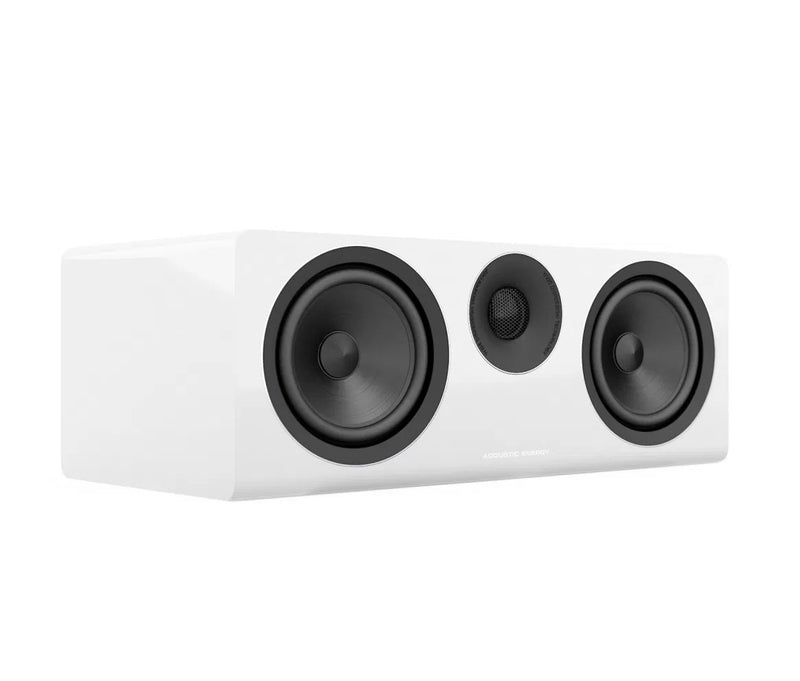 Acoustic Energy AE307 Centre Channel Loudspeaker piano white