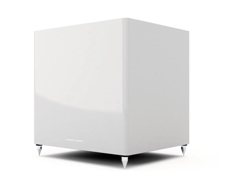 Acoustic Energy AE308 Subwoofer piano white