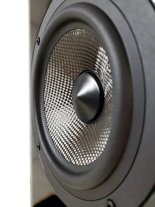 Acoustic Energy AE509 Floorstander Speakers bass driver