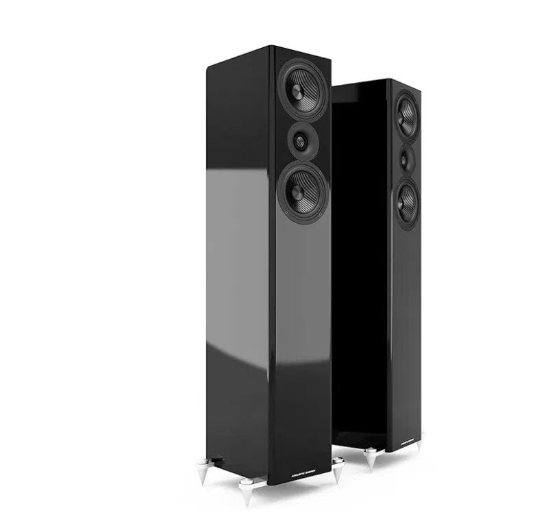 Acoustic Energy AE509 Floorstander Speakers piano black