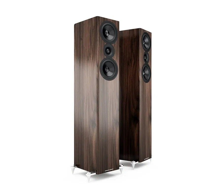 Acoustic Energy AE509 Floorstander Speakers walnut