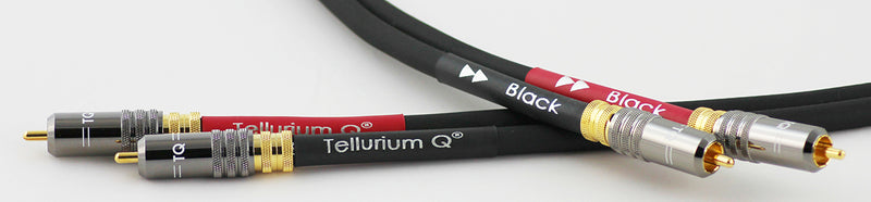 Tellurium Q Black RCA Interconnect Cable (1m, pair)