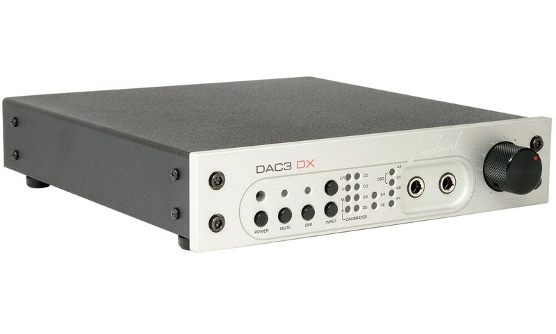 Silver Benchmark DAC3 DX - Digital to Analog Audio Converter angle view