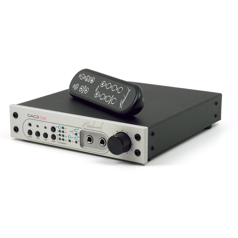 Silver Benchmark DAC3 DX - Digital to Analog Audio Converter with remote