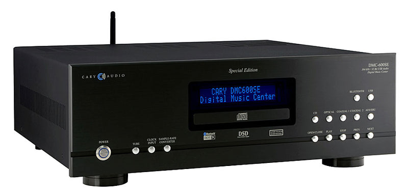 Cary Audio DMC-600SE Digital Music Center, CD Player, reference grade Audio output