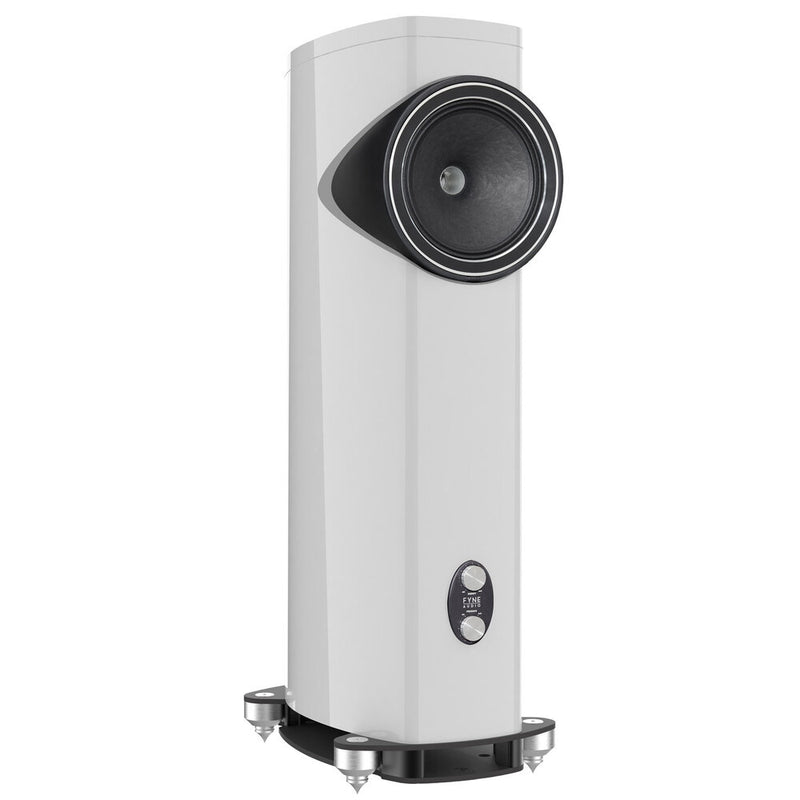 Fyne Audio F1-12 Floorstanding Speakers gloss white side