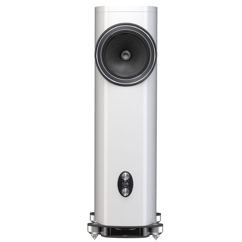 Fyne Audio F1-12 Floorstanding Speakers gloss white