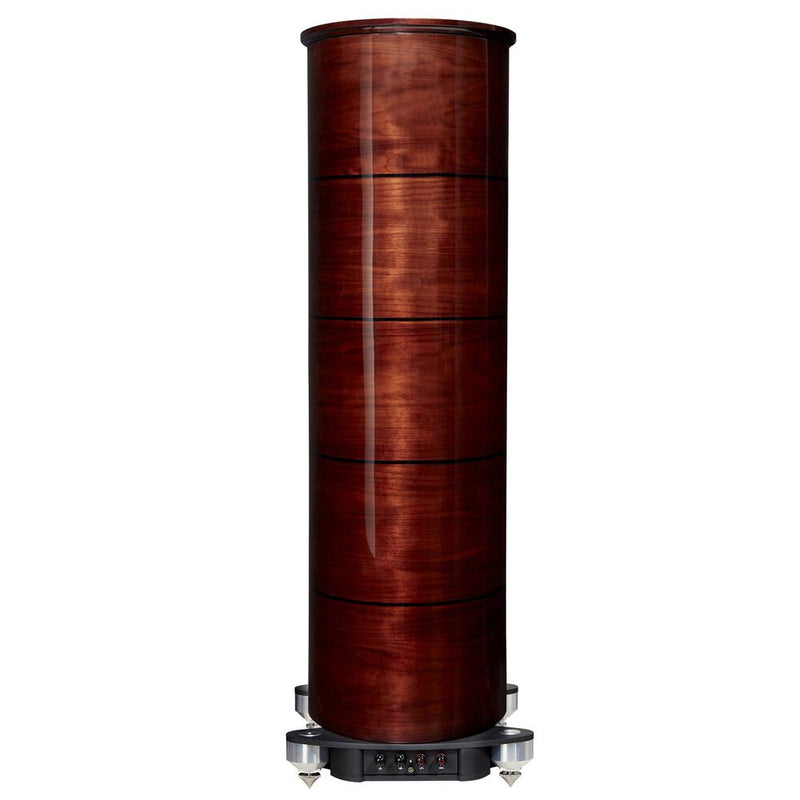 Fyne Audio F1-12 Floorstanding Speakers gloss walnut rear