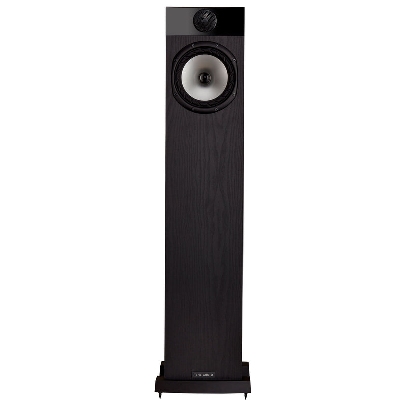 Fyne Audio F302 Floorstanding Speakers black ash