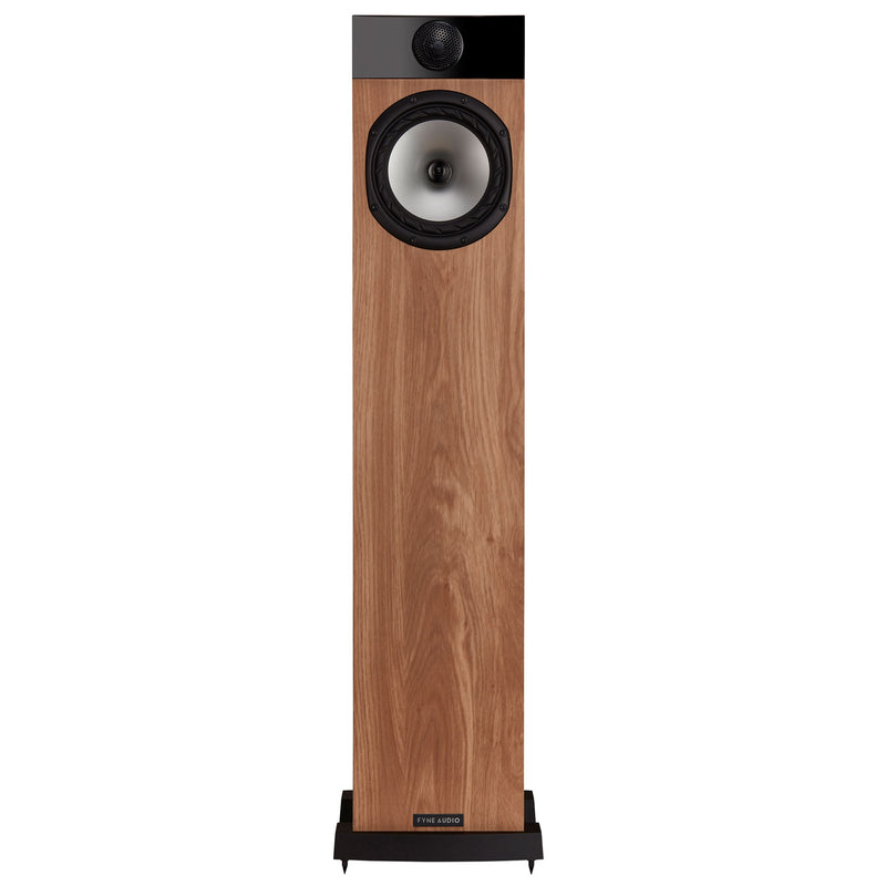 Fyne Audio F302 Floorstanding Speakers light oak