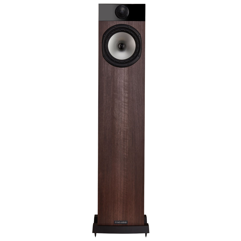 Fyne Audio F302 Floorstanding Speakers walnut